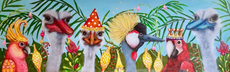 Paradijsvogels (100x40)