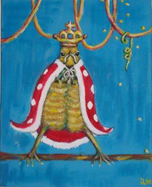 Koning Mus (13cm x 18cm) VERKOCHT